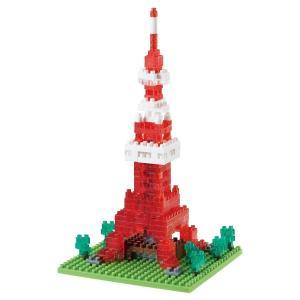 ナノブロック 10周年記念 東京タワー クリアver. NBH_001R