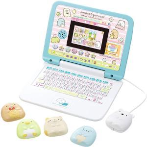 すみっコぐらしのかわいいパソコンが登場! 勉強も遊びもこれ1台! すみっコたちと楽しくパソコン操作を...