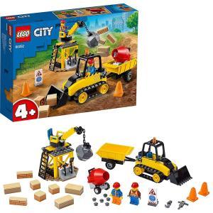 レゴ シティ 工事現場のブルドーザー 60252