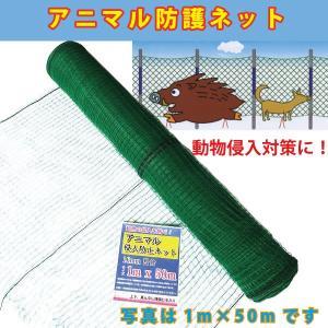 アニマル防護ネット 16mm目合い 1m×50m 動物侵入防止・畑囲い・防護・防獣対策に! シンセイ|kiyo-store