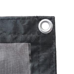 防炎メッシュシート ブラック 1.8x5.4m 450P 解体・建築シート・足場用シート|kiyo-store|03