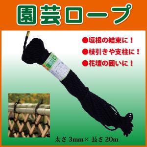 園芸ロープ 小束 結束ひも 太さ3mm×20m 10巻組 人工竹の結束・化粧用に最適!|kiyo-store