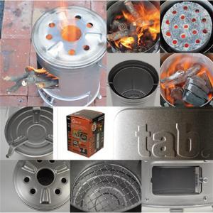缶ストーブ tab.タブ 径196mm×高276mm 調理やたき火、暖房までマルチに使える アウトドアでも緊急時の備えにも役立ちます。 田中文金属|kiyo-store|05