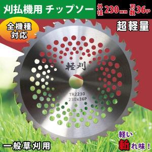 【刈払機用チップソー】 外径230mm 刃数36P ブリスターパック 2P×40組(80枚) 軽量!メッシュチップソー。草刈り機用替刃|kiyo-store