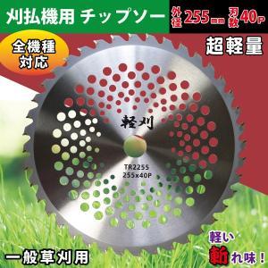 刈払機用チップソー 外径255mm 刃数40P ブリスターパック 1P(2枚) 軽量!メッシュチップソー。草刈り機用替刃|kiyo-store