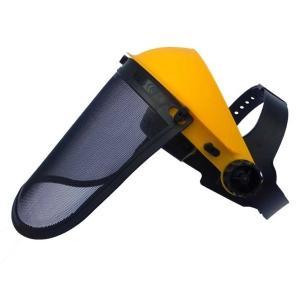 メッシュプロテクター 飛散防護具 シールド上下・ヘッドバンドサイズ調節可能! 飛来物から顔面防御|kiyo-store|02