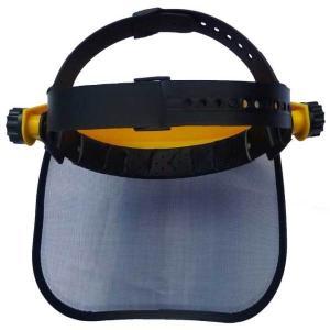 メッシュプロテクター 飛散防護具 シールド上下・ヘッドバンドサイズ調節可能! 飛来物から顔面防御|kiyo-store|03