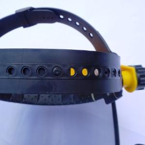 メッシュプロテクター 飛散防護具 シールド上下・ヘッドバンドサイズ調節可能! 飛来物から顔面防御|kiyo-store|04