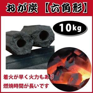 おが炭 六角形 ベトナム産 10kg入 高品質、火持ちがよく、煙も少ない! 焼肉・バーベキューに|kiyo-store