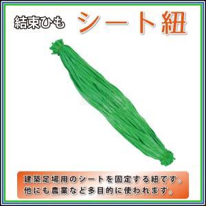 【シート紐】グリーン 80cm 100本組 足場シート用結束ヒモ|kiyo-store