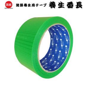 【養生番長】 緑 48mm×25m 30巻 建築養生用。基材にコシがあるので、まっすぐビシッと貼れる養生テープ ホリコー YT-301|kiyo-store