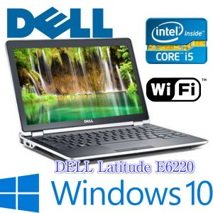 中古パソコンDELL Latitude E6220 / Intel Core i5 2520M 2.50GHz / メモリ4GB / HDD250GB / Windows10 Pro / 12.5インチ / 無線LAN / 最新OS|kiyoshishoji