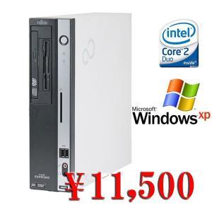 中古デスクトップパソコン 送料無料 Windows XP Pro  Fujitsu FMV-D5270 Core2Duo-3.0GHz メモリ2GB HDD80GB DVD|kiyoshishoji