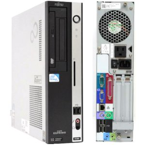 中古パソコン 19インチ液晶セット office2016付 送料無料 富士通 Pentium DualCore 2.60GHz メモリ2GB HDD160GB Windows7 pro 32bit済 新品キーボード マウス付 kiyoshishoji 02