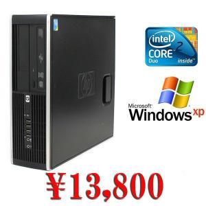 中古デスクトップパソコン 送料無料 Windows XP Pro&DtoD機能 HP 6000Pro Core2Duo-2.93GHz メモリ2GB HDD80GB DVD|kiyoshishoji