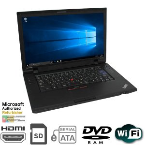 現品限り 15.6型 ThinkPad SL510 Celeron Dual-core T3500 2.1GHz 4GB HDD250GB マルチ 無線LAN付 MAR Win10 Home 64bit済 WPS Office付【HDMI,eSATA,USB2.0】|kiyoshishoji