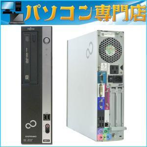 中古デスクトップパソコン 送料無料 office2013付 Windows7 Pro 32bit Fujitsu D581 第二世代2コア4スレッド i3 2100-3.10GHz メモリ4GB HDD160GB DVDドライブ|kiyoshishoji|02