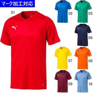 プーマ ゲームウェア LIGA 半袖ゲームシャツ コア/マーク付き|kiyospo