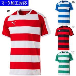 プーマ ゲームウェア LIGA フープ 半袖ゲームシャツ/マーク付き|kiyospo