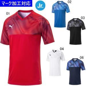 プーマ ゲームウェア CUP ジュニア半袖ゲームシャツ/マーク付き|kiyospo