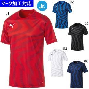 プーマ ゲームウェア CUP ジュニア半袖ゲームシャツ コア/マーク付き|kiyospo