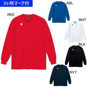 デサント ユニフォーム 長袖ゲームシャツ(ジュニア対応)/マーク付き|kiyospo