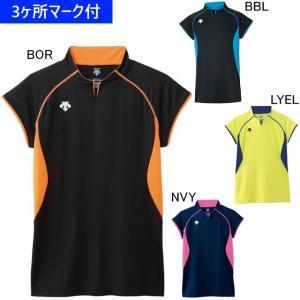 デサント ユニフォーム フレンチスリーブゲームシャツ DSS-4430/マーク付き|kiyospo