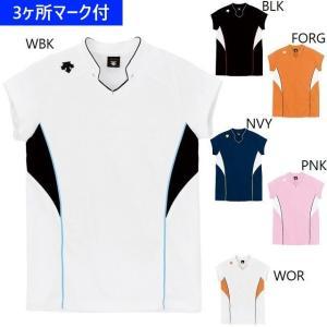 デサント ユニフォーム フレンチスリーブゲームシャツ(ジュニ...