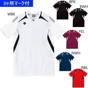 デサント ユニフォーム 半袖ゲームシャツ(ジュニア対応)/マーク付き|kiyospo