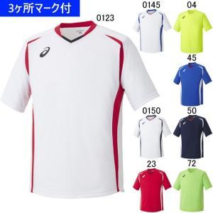 アシックス ユニフォーム 半袖ゲームシャツ/マーク付き|kiyospo