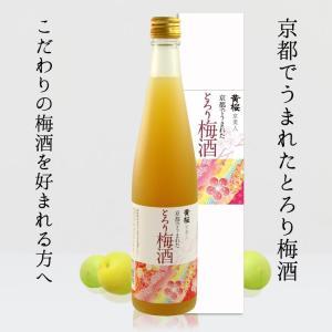 梅酒 京美人 京都でうまれたとろり梅酒 500ml カートン入り 伏水蔵直送