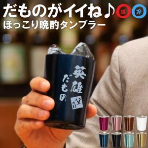 敬老の日 プレゼント 70代 80代 父 ビール タンブラー 名入れ ギフト カラー真空断熱 ステンレスタンブラー 250ml だもの 名前入り 誕生日 男性 50代 60代|kizamu