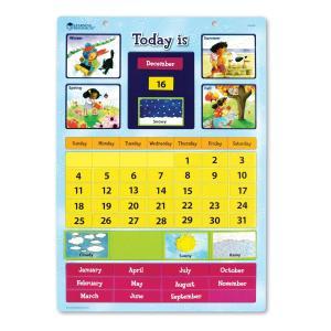 Magnetic Learning Calendar 英語教材 壁掛けカレンダー マグネット式カレンダー kizashi