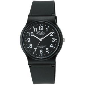 [シチズン キューアンドキュー]CITIZEN Q&Q 腕時計 Falcon (フォルコン) アナログ表示 10気圧防水 ブラック×ホワイト VP46-854|kizashi