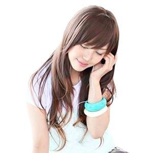 ウィッグ ロング フルウィッグ ゆるふわ 甘め カール 巻き髪 高品質 耐熱 仕様 (ヘアネット 3枚 付き) (ライトブラウン)|kizashi