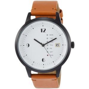 [フィールドワーク]Fieldwork 腕時計 ファッションウォッチ グラモン アナログ カレンダー 革ベルト ブラウン QKD052-3|kizashi