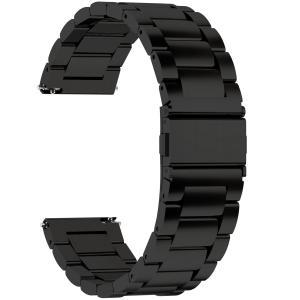 時計バンド ベルト24mm ステンレス、Fullmosa スマートウォッチバンド ベルト 腕時計バンド 18mm 20mm 22mm 24mm交換ベルトステンレス 金属ベルト24mm ブラック|kizashi
