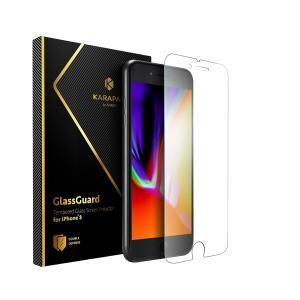 iphone 8 / 7 強化ガラス 液晶保護フィルム ガラスフィルム Anker
