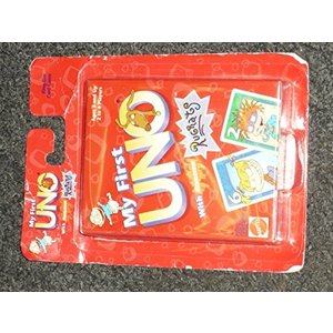 ・My First UNO card game that combines the colorful...