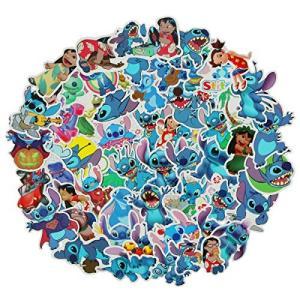 JJLIN 50Pcs Lilo & Stitch Stickers Waterproof Viny...