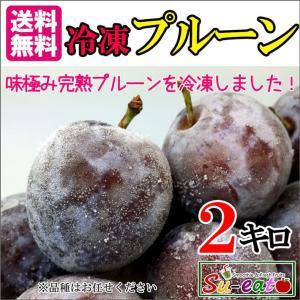 冷凍 プルーン 減農薬 長野県産 2キロ
