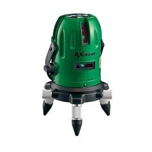【LV-61G】 《KJK》 アックスブレーン 受光器対応高輝度グリーンレーザー墨出し器 ωο0|kjk