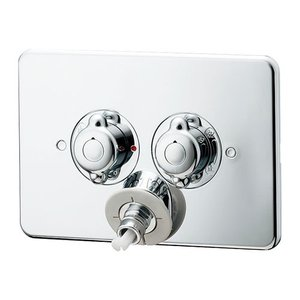 【127-102】 《KJK》 カクダイ 洗濯機用混合栓(立チ上ガリ配管用) ωσ0|kjk
