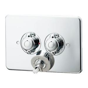【127-103K】 《KJK》 カクダイ 洗濯機用混合栓(天井配管用) ωσ0|kjk