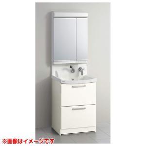 【BNFH60FHMCWDI M-602NFNC】 《KJK》 クリナップ 洗面化粧台 ファンシオ 幅600mm オールスライドタイプ リリーフオークミディアム LED2面鏡 ωγ1|kjk