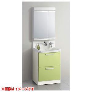 【BNFH60KHMCWSI M-602NFNC】 《KJK》 クリナップ 洗面化粧台 ファンシオ 幅600mm オールスライド(体重計収納付き) ホワイト LED2面鏡 ωγ1 kjk