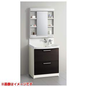 【BNFH75FHMCWSI M-751NFNC】 《KJK》 クリナップ 洗面化粧台 ファンシオ 幅750mm オールスライドタイプ ホワイト LED1面鏡 ωγ1|kjk