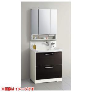 【BNFL75KHMCWSI M-753NFNW】 《KJK》 クリナップ 洗面化粧台 ファンシオ 幅750mm オールスライド(体重計収納付き) ホワイト スキンケア3面鏡 ωγ1 kjk