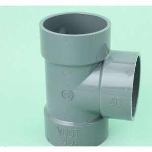 【DT-100X50】 《KJK》 塩ビ管用 VU継手 DT 100x50(22個入り) ωι0|kjk