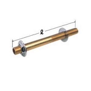 【OK331 13×220】 《KJK》 オーミヤ BS継手 ソーラーニップル 黄銅製 サイズ13×220 ωξ0|kjk